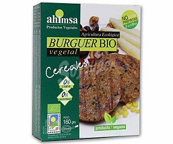 Ahimsa Hamburguesa de cereales de cultivo ecológico 160 gramos