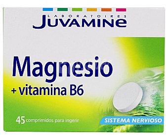 Juvamine Magnesio + vitamina B6 comprimidos 45 ud