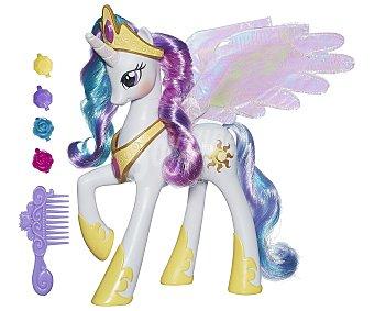 Mini mascota electrónica con luces y movimiento Princesa Celestia con accesorios 1 unidad