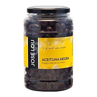 Jose Lou Aceituna negra natural con hueso 900 g