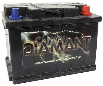 Diamant Batería de Automóvil de 12v y 55 Ah, Potencia de Arranque: 500 Amperios 1 Unidad