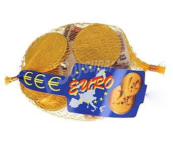 Productos Económicos Alcampo Monedas y billetes de chocolate con leche 80 gramos