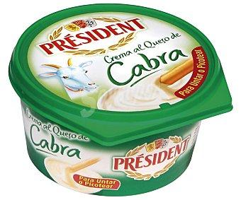 President Crema al queso de cabra Tarrina 125 g