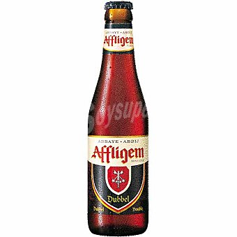 AFFLINGEM Dubble cerveza rubia belga  botella 33 cl