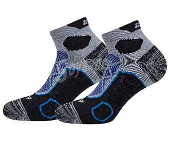 JOMA Pack de 2 pares de calcetines técnicos para hombre talla 39/42.