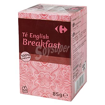 Carrefour Té English Breakfast 50 ud