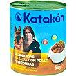 Albóndigas en salsa con pollo y verduras para perros Lata 800 g KATAKÁN