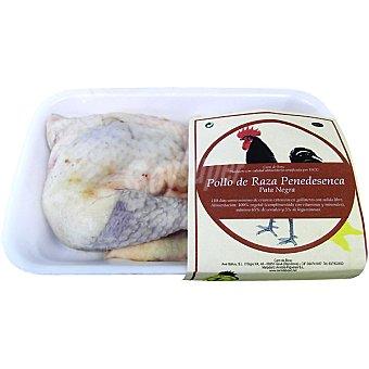 POLLO NEGRO DEL PENEDES Pollo de corral medio peso aproximado Bandeja 1,3 kg