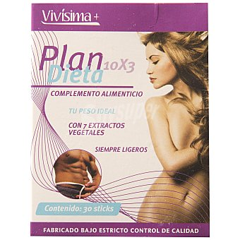 Vivisima+ plan express 10x3 Envase 30 uds