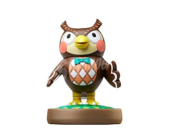 Nintendo Figura amiibo Socrates, serie Animal Crossing, compatible con wiiu, Nintendo New 3Ds y New 3Ds XL 1 unidad