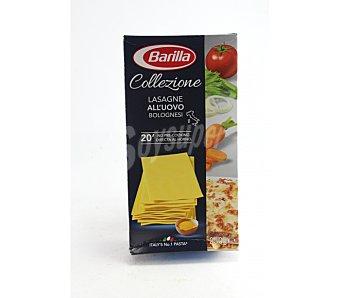 Barilla Lasaña huevo barilla 20 placas 500 g