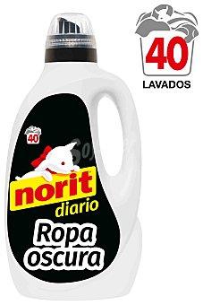 Norit Detergente líquido ropa oscura diario Garrafa 40 lavados