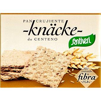 Santiveri pan crujiente knäche de centeno alto contenido en fibra Envase 250 g