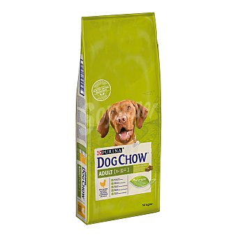 Purina Dog Chow Pienso para perros adultosmedianos y grandes Dog Chow 2 Adult Pollo 14 Kg