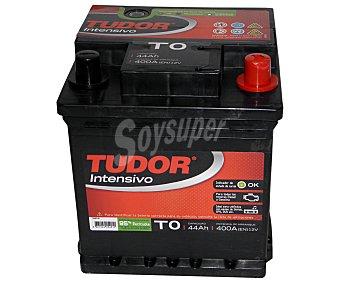 TUDOR Batería de arranque T0 12 Voltios 44Ah, potencia de arranque: 400 Amperios 1 unidad