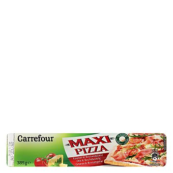 Carrefour Masa maxi pizza 385 g