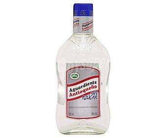 Antioqueño Aguardiente de colomibia sin azucar botella de 70 cl