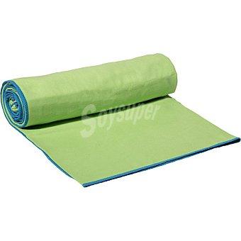 Casactual Micro grande toalla microfibra verde y azul