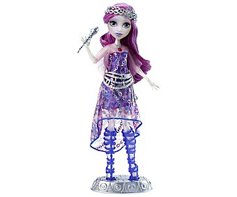 Monster High Muñeca interactiva Cantante única Ari Hauntington 1 unidad
