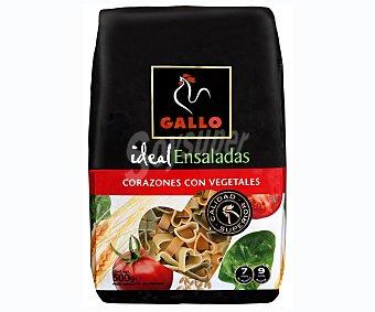 Gallo Corazon c/vegetal Gallo500+20% Paquete 500 g + 20%