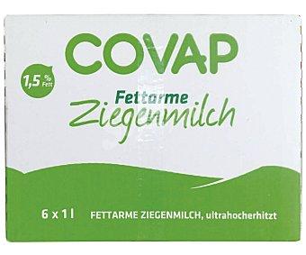 Covap Leche de cabra semidesnatada 6 unidades de 1 litro