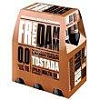 Cerveza tostada free damm, pack 6 botellas 0,25l Pack 6 botellas 0,25 l Free Damm
