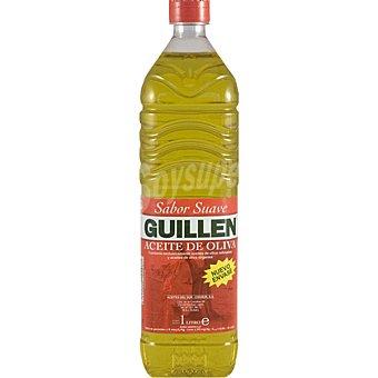 Guillen Aceite de oliva sabor suave 0,4º botella 1 l Botella 1 l