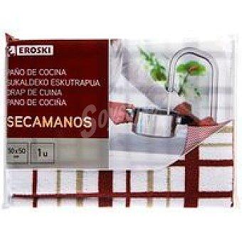 Eroski Paño secamanos Pack 1 unid