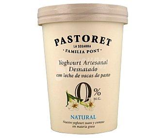 Pastoret Yogur artesanal desnatado 0% M.G. natural 500 ml
