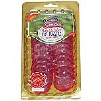 PAVLITO Salchichón de pavo en lonchas Sobre 100 g
