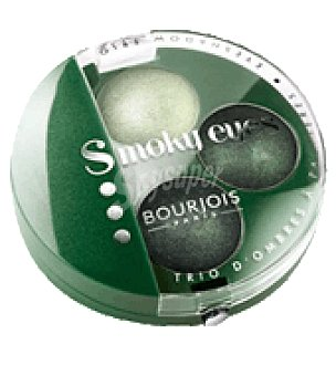 Bourjois Sombra de ojos trio Smoky nº 08 vert trendy 1 ud
