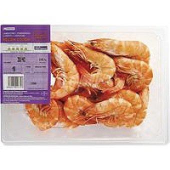 Eroski Langostino cocido 30-40 Bandeja 450 g