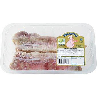 PELAYITO Manos cerdo saladas peso aproximado Bandeja 450 g
