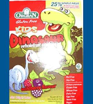 Orgran Galletas dinosaurios frutas 175 g.