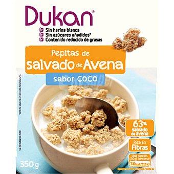 Dieta Dunkan Pepitas de salvado de avena sabor coco  envase de 59 g