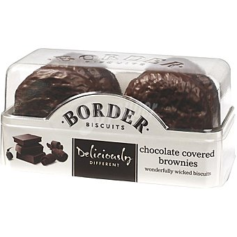 BORDER BISCUITS Brownies Galletas cubiertas de chocolate Estuche 175 g
