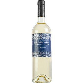 PEÑA DEL VALLE Vino blanco sauvignon blanc de Extremadura botella 75 cl Botella 75 cl