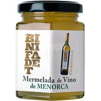 BINIFADET Mermelada de vino Chardonnay Frasco 195 g