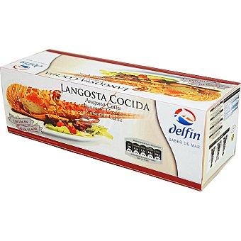 DELFIN langosta cocida estuche 850 g neto escurrido