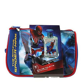 Spiderman Neceser colonia 150 ml. + gel 150 ml. 1 ud