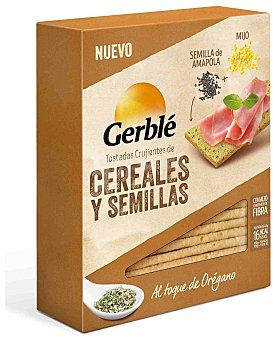 Gerblé Tostadas de mijo y amapola 100 g