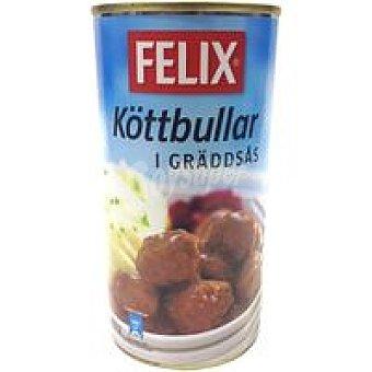 Felix Purina Albondigas en salsa crema Lata 560 g