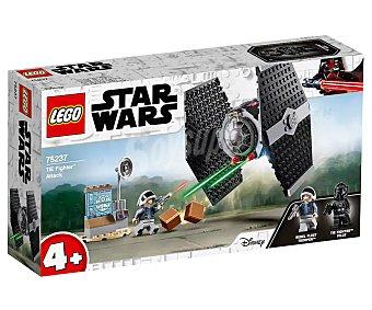 LEGO Star Wars Ataque del Caza TIE para construir con 77 piezas, Star Wars 75237 lego