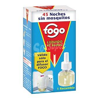 Fogo Insecticida Recambio Eléctrico Liquido 45 dosis