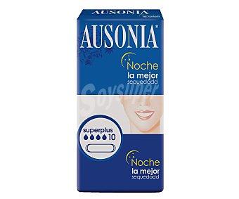 Ausonia Comp.ultra noche alas excel Paquete 10 unidades
