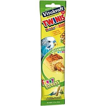 VITAKRAFT TWINIS Bizcocho + barrita con miel para periquitos paquete 1 unidad Paquete 1 unidad