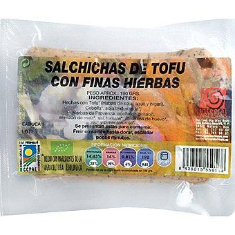 INTEGRAL ARTESANS Frankfurt bio de tofu envase 190 g Envase 190 g