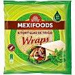 Wraps Bolsa 370 g Mexifoods