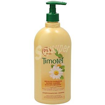 Timotei Champú Reflejos Dorados con extracto de flor de camomila para cabello rubio o con mechas  Bote 750 ml