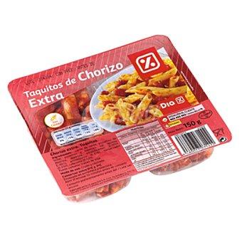 DIA Taquitos de chorizo sobre 2x75 g